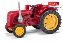 Busch 210004401 Famulus traktor, oldalvágóval, piros (H0)