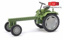 Busch 210005100 RS09 mezőgazdasági jármű, zöld, szürke felnikkel (H0)