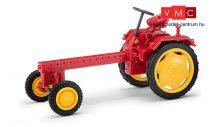 Busch 210005600 RS09 traktor, piros - sárga felnikkel (H0)