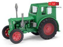 Busch 210006400 Pionier traktor, zöld (H0)