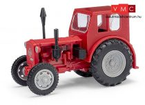 Busch 210006403 Pionier traktor, piros (H0)