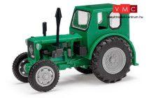 Busch 210006410 Pionier traktor, zöld (H0) - Exquisit