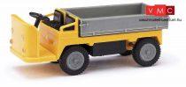 Busch 210009303 Balkancar elektromos targonca (kofferkuli), billencs, sárga (H0)