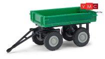 Busch 210009501 Pótkocsi elektromos targoncához, zöld (H0)