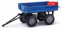 Busch 210009502 Pótkocsi elektromos targoncához, kék (H0)
