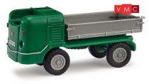 Busch 210009610 Multicar M21 alacsony oldalfalú teherautó, zöld - Exquisit (H0)