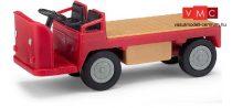Busch 210010002 Balkancar elektromos targonca (kofferkuli), piros (H0)