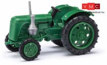 Busch 210010115 Famulus traktor, zöld, sárga felnikkel (H0)
