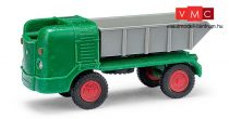Busch 211002301 Multicar M21 billencs, zöld (TT)