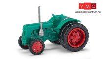 Busch 211005800 Famulus traktor, dupla hátsó gumikkal, zöld (TT)