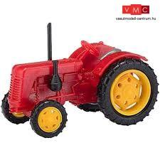 Busch 211006702 Famulus traktor, piros (N)