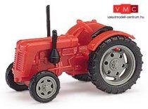 Busch 211006704 Famulus traktor, piros, szürke felnikkel (N)
