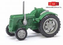 Busch 211006707 Famulus traktor, zöld, szürke felnikkel (N)