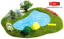 Busch 3101 Kis tó - Kész modell (H0)
