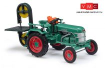 Busch 40069 Kramer K11 traktor, hátsó szalagfűrésszel (H0)