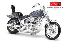 Busch 40157 Amerikai motorkerékpár, chopper, metálszürke színben (H0)