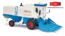 Busch 40174 Fortschritt E514 kombájn, kukorica adapterrel, kék színben (H0)