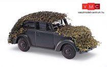 Busch 41104 Opel Olympia katonai álcahálóval (Wehrmacht) (H0)