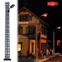 Busch 4130 Lámpa rácsos oszlopon, sárga LED (H0)