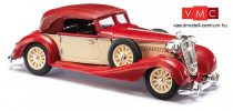 Busch 41320 Horch 853 Cabrio, zárt tetővel, piros (H0)