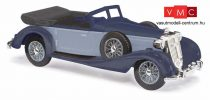Busch 41334 Horch 853 Cabrio, nyitott tetővel, kék (H0)