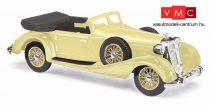 Busch 41337 Horch 853 Cabrio, nyitott tetővel, sárga (H0)