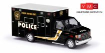 Busch 41801 Ford E-350, amerikai rendőrség - Police Special Service Unit (H0)