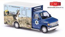Busch 41843 Ford E-350 mentőautó, Wyoming Medical Center - Nr.3 Antelope (H0)