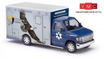 Busch 41846 Ford E-350 mentőautó, Wyoming Medical Center - Nr.6 Eagle (H0)