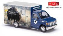 Busch 41848 Ford E-350 mentőautó, Wyoming Medical Center - Nr.8 Bison (H0)