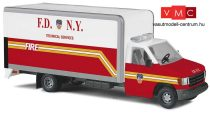 Busch 41856 Ford E-350 dobozos tűzoltó, F.D.N.Y. (H0)