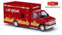 Busch 41870 Ford E-350 tűzoltó mentőszolgálat - Las Vegas (H0)