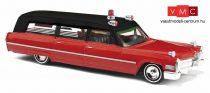 Busch 42902 Cadillac Station Wagon mentőautó, Ambulance Chicago (H0)