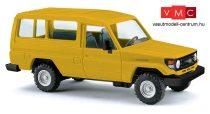 Busch 43554 Toyota HZJ 78, sárga (H0)