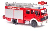 Busch 43810 Mercedes Benz MK94 1224 (1994) tűzoltóautó, Feuerwehr Chemnitz (H0)
