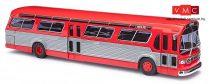 Busch 44501 Fishbowl amerikai busz (1959), piros (H0)