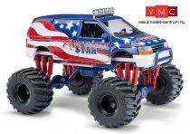 Busch 44657 Dodge Ram Van, Monster-Truck (H0)