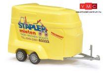 Busch 44921 Lószállító utánfutó, Stapler mieten (H0)