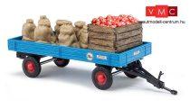 Busch 44995 Mezőgazdasági pótkocsi alma rakománnyal (H0)