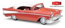 Busch 45038 Chevrolet Bel Air Cabrio, piros (H0)
