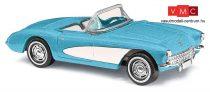 Busch 45411 Corvette Cabrio, kék (H0)