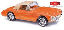 Busch 45428 Corvette Cabrio, zárt tetővel (H0)
