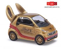 Busch 46211 Smart Fortwo 2012, Lindt, Goldhase (H0)