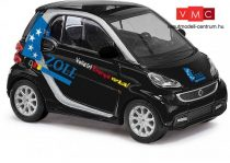 Busch 46214 Smart Fortwo Coupé, Zoll, fekete (H0)