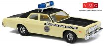 Busch 46656 Plymouth Fury, amerikai rendőrség - Tennessee State Trooper (H0)