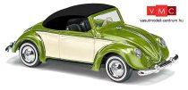 Busch 46735 Volkswagen Hebmüller, zárt tetővel - bézs/zöld (H0)