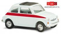 Busch 48717 Fiat 500, Sport - fehér (H0)