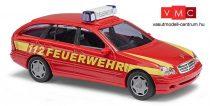 Busch 49174 Mercedes-Benz C-Klasse T-Modell tűzoltó, Feuerwehr (H0)