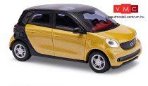 Busch 49555 Smart Forfour 2014 CMD, sárga (H0)