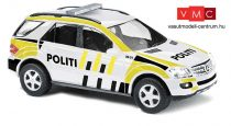 Busch 49818 Mercedes Benz M-Klasse, Politi, norvég rendőrség (H0)